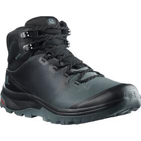 Salomon Vaya Mid GTX Shoes Women, stormy weather/black/trooper